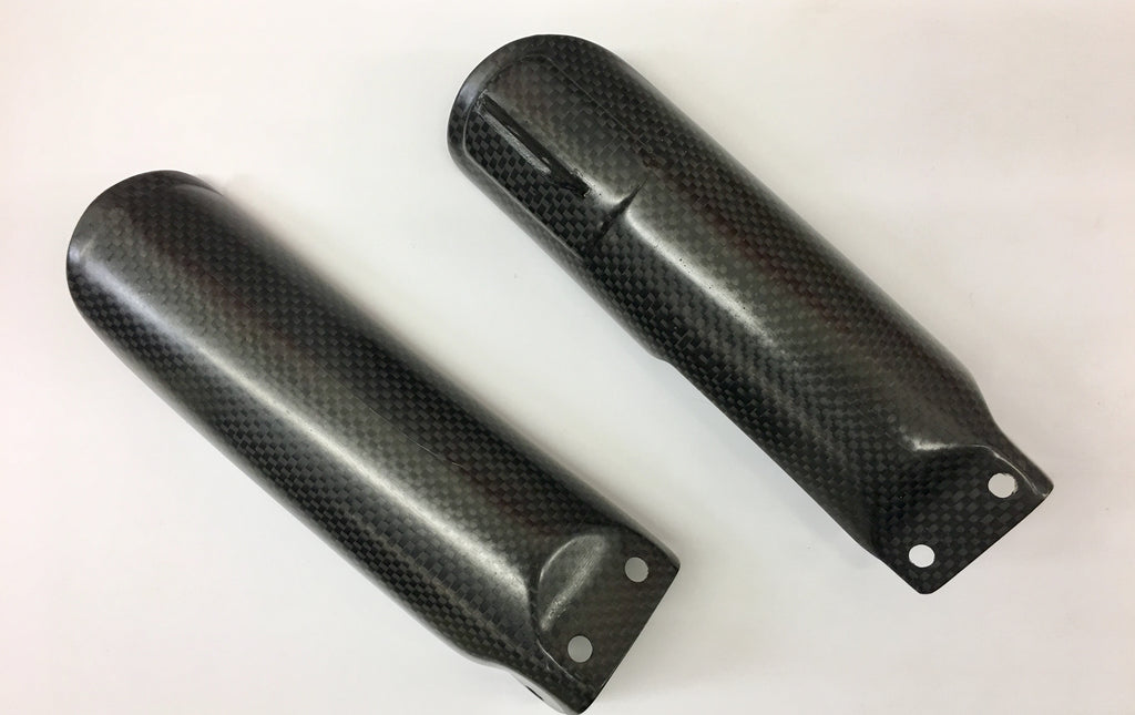 CRF50 Honda Carbon Fiber Fork Guards 50cc