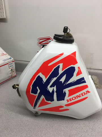 1993-1995 Honda XR650L XR650 XR 650 L Gas Fuel Tank ( NO KEY)