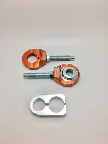 KTM / Husky Chain Adjuster Blocks #CAB21 Large Axle