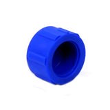 Rubber Fuel Screw Cap (BLUE)