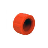 Rubber Fuel Screw Cap (ORANGE)