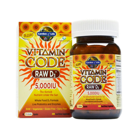 Vitamin CODE RAW D3 5,000 IU (60)