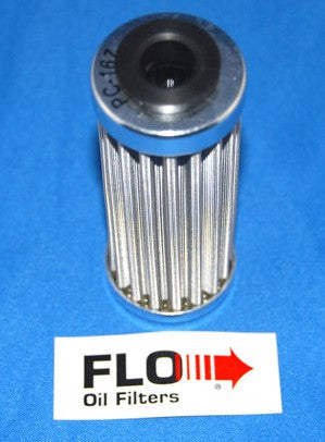 PC Racing Stainless Steel Reusable Oil Filter 167