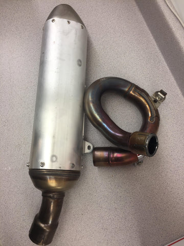 YZ450F Stock Exhaust System