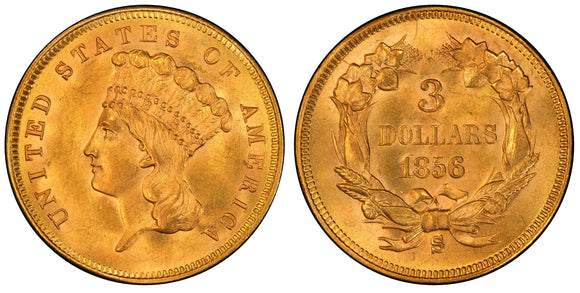Three Dollar Gold (1854-1889)