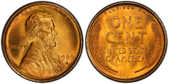 Lincoln Cent (Wheat Reverse) (1909-1958)
