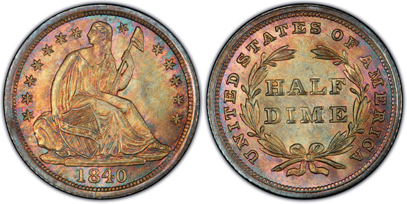 Liberty Seated Half Dimes (1837-1873)