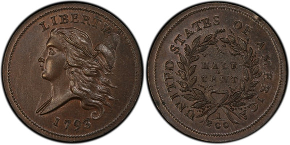 Liberty Cap Half Cent (1793-1797)