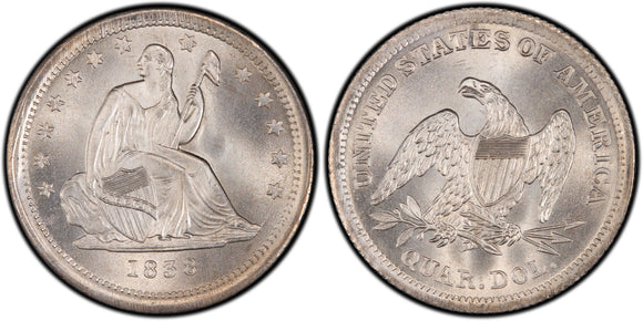 Liberty Seated Quarters (1838-1891)