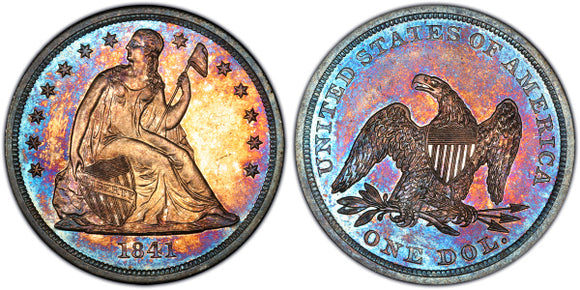 Liberty Seated Dollar (1836-1873)