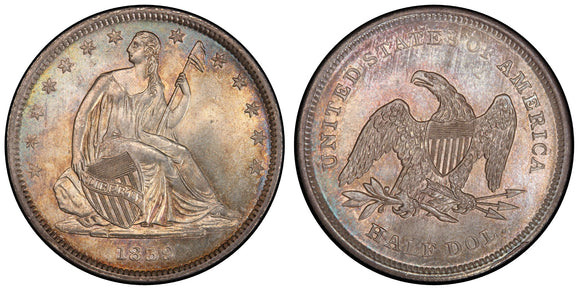Liberty Seated Half Dollar (1839-1891)