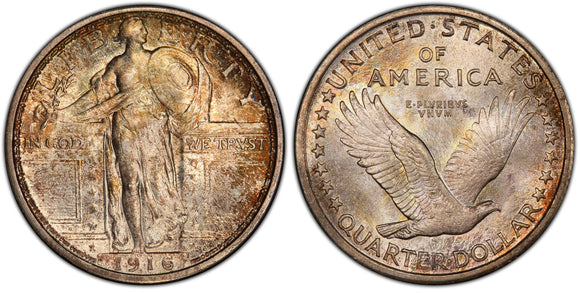 Standing Liberty Quarters (1916-1930)