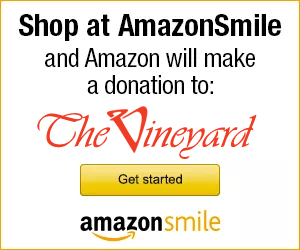 Donate to the Vineyard Camp at smile.amazon.com!