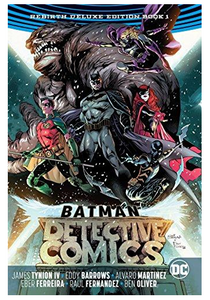 Batman - Detective Comics: The Rebirth Deluxe Edition Book 1 (Hardcover)