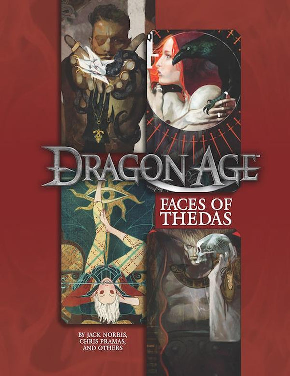 Dragon Age: Faces Of Thedas HC