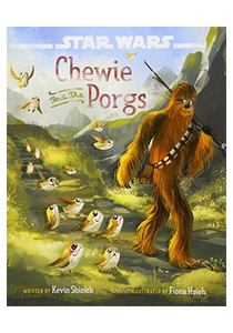 Star Wars: Chewie and the Porgs (The Last Jedi) HC