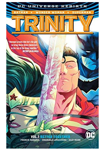 Trinity v.1: Better Together (Rebirth) (Hardcover)