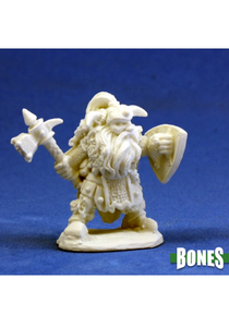 Fulumbar, Dwarf Warrior - Plastic Miniature