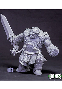 Fire Giant Warrior - Plastic Miniature