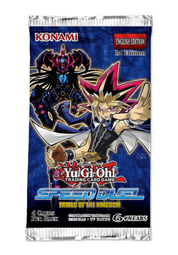 YuGiOh Speed Duel: Trials Of The Kingdom Booster Pack