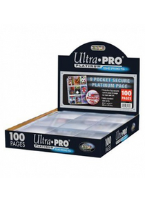 Ultra Pro Platinum 9-Pocket Pages