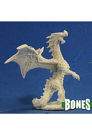 Red Dragon Hatchling - Plastic Miniature