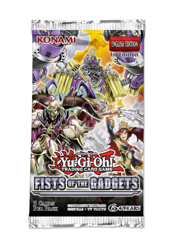 YuGiOh: Fists Of The Gadgets Booster Pack