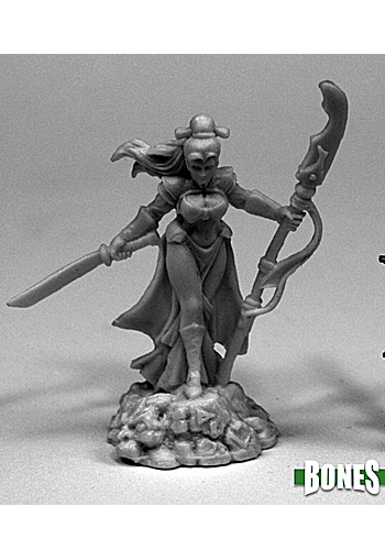 Masumi, Demon Hunter - Plastic Miniature