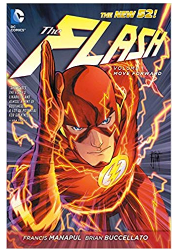 The Flash (New 52) v.1: Lightning Strikes TP (DAMAGED)