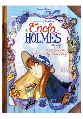 Enola Holmes: The Case Of The Left-Handed Lady HC PREORDER
