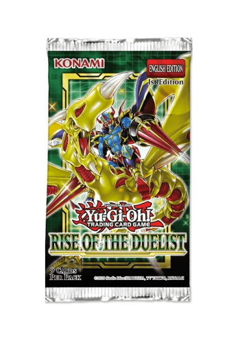 YuGiOh: Rise Of The Duelist Booster Pack