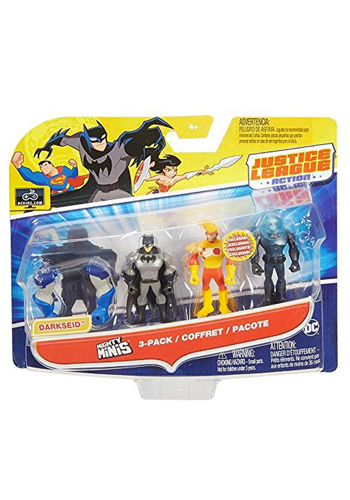 Justice League Action Figure Mighty Minis 3-Pack