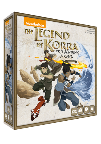The Legend Of Korra: Pro-Bending Arena Game