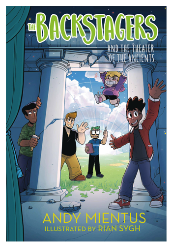 Backstagers Illustrated Novel HC v.2: The Theatre of The Ancients PREORDER