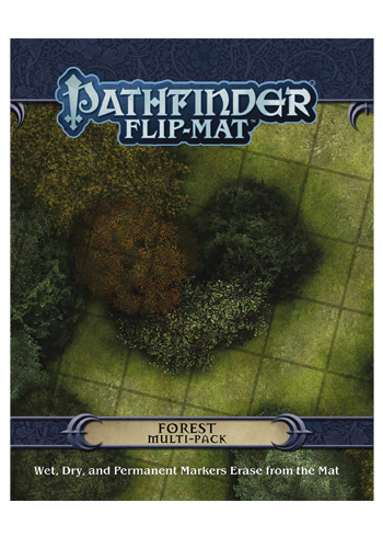 Pathfinder Flip Mat: Forest Multi-Pack