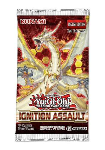 YuGiOh: Ignition Assault Booster Pack