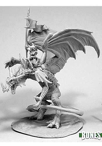 Kyra And Lavarath, Dragon And Rider - Plastic Miniatures
