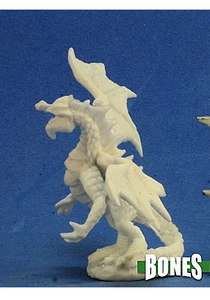 Green Dragon Hatchling - Plastic Miniature