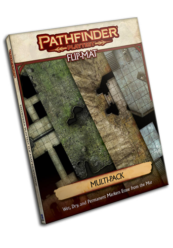 Pathfinder Playtest Flip Mat Multi-Pack