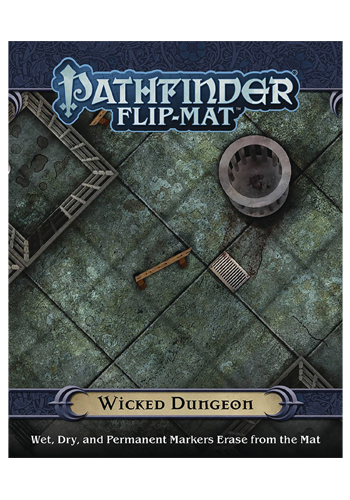 Pathfinder Flip Mat: Wicked Dungeon