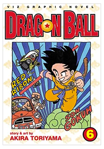 Dragon Ball v.6 (DAMAGED)