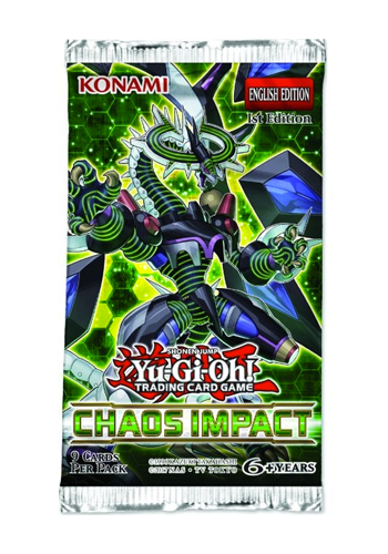 YuGiOh: Chaos Impact Booster Pack