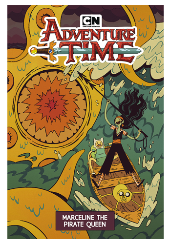 Adventure Time: Marceline The Pirate Queen GN