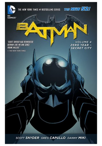 Batman (The New 52) v.4: Zero Year - Secret City HC