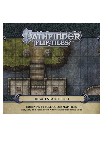 Pathfinder Flip Tiles: Urban Starter Set