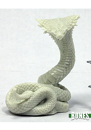 Giant Cobra - Plastic Miniature