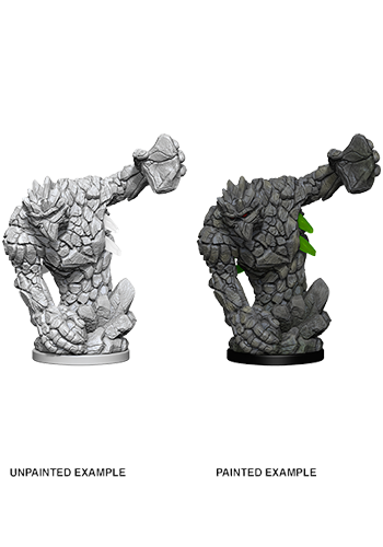Medium Earth Elemental - Plastic Miniature