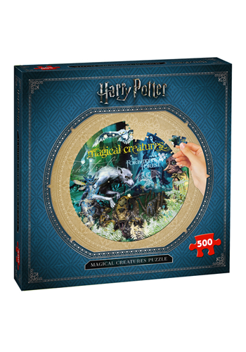 Harry Potter Puzzle - 1000pc Hogwarts