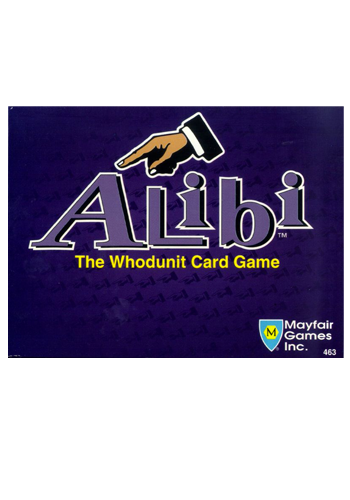 Alibi: The Whodunit Card Game