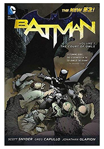 Batman (The New 52) v.1: The Court Of Owls TP (DAMAGED)